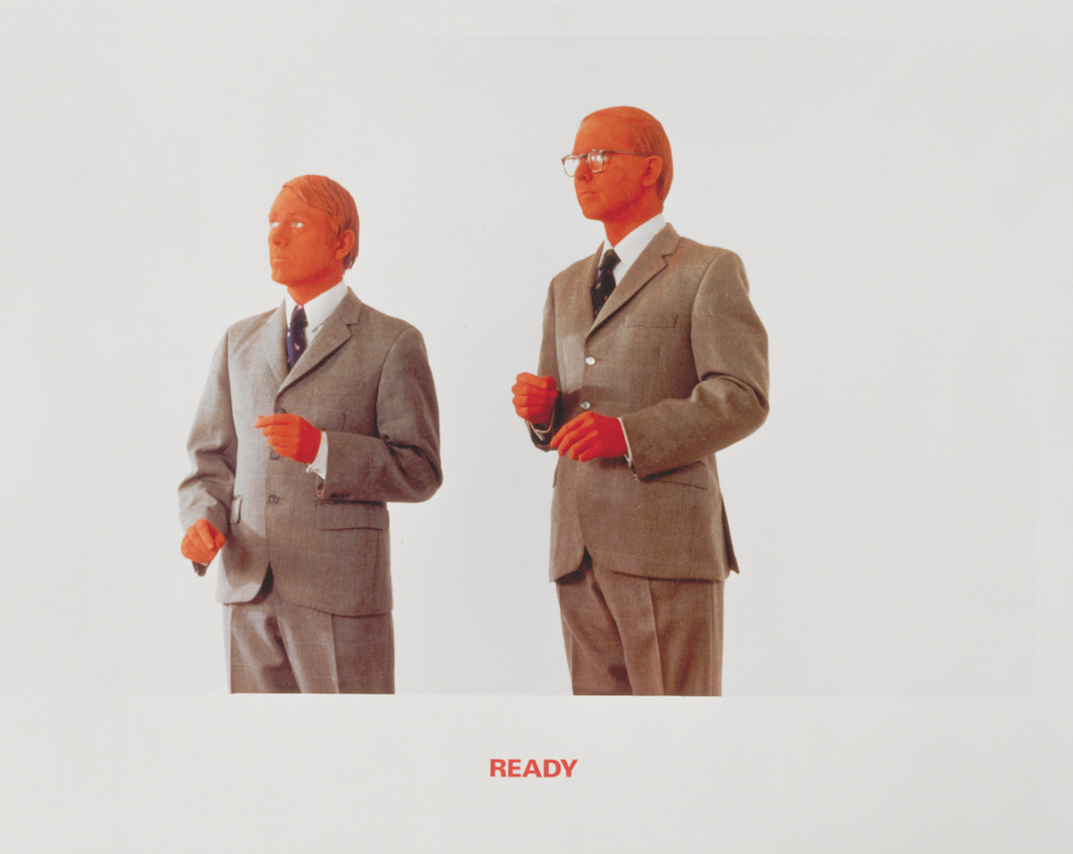 <b>Gilbert&George, The Red Sculpture Album, 1975</b>