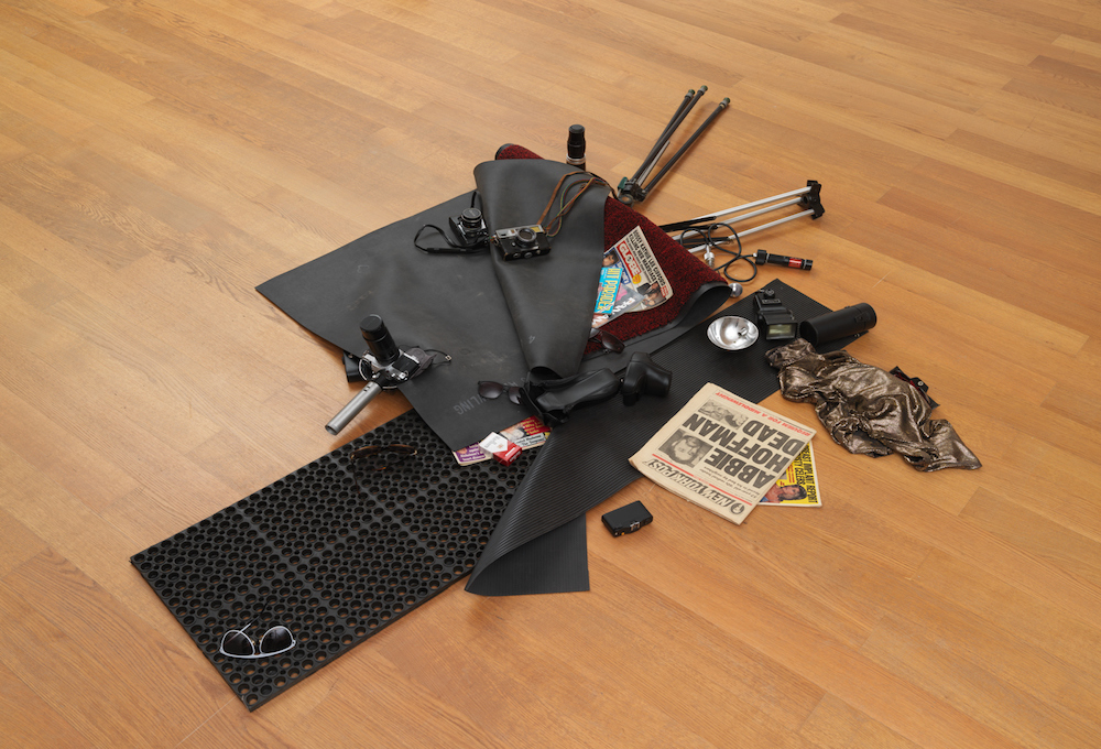 <b>Cady Noland, Celebrity Trash Spill, 1989</b>