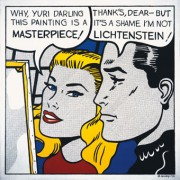 Yuri Albert, I Am Not Lichtenstein, 1990 © Yuri Albert
