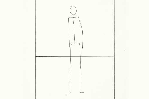 Matt Mullican, From the Series Stick Figures, 1974